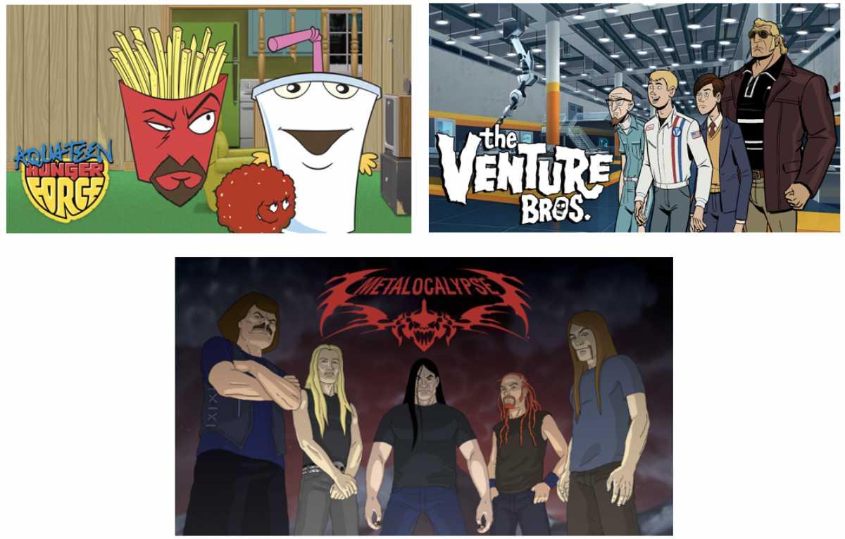 Aqua Teen Hunger Force, Metalocalypse & Venture Bros. Movies Coming!