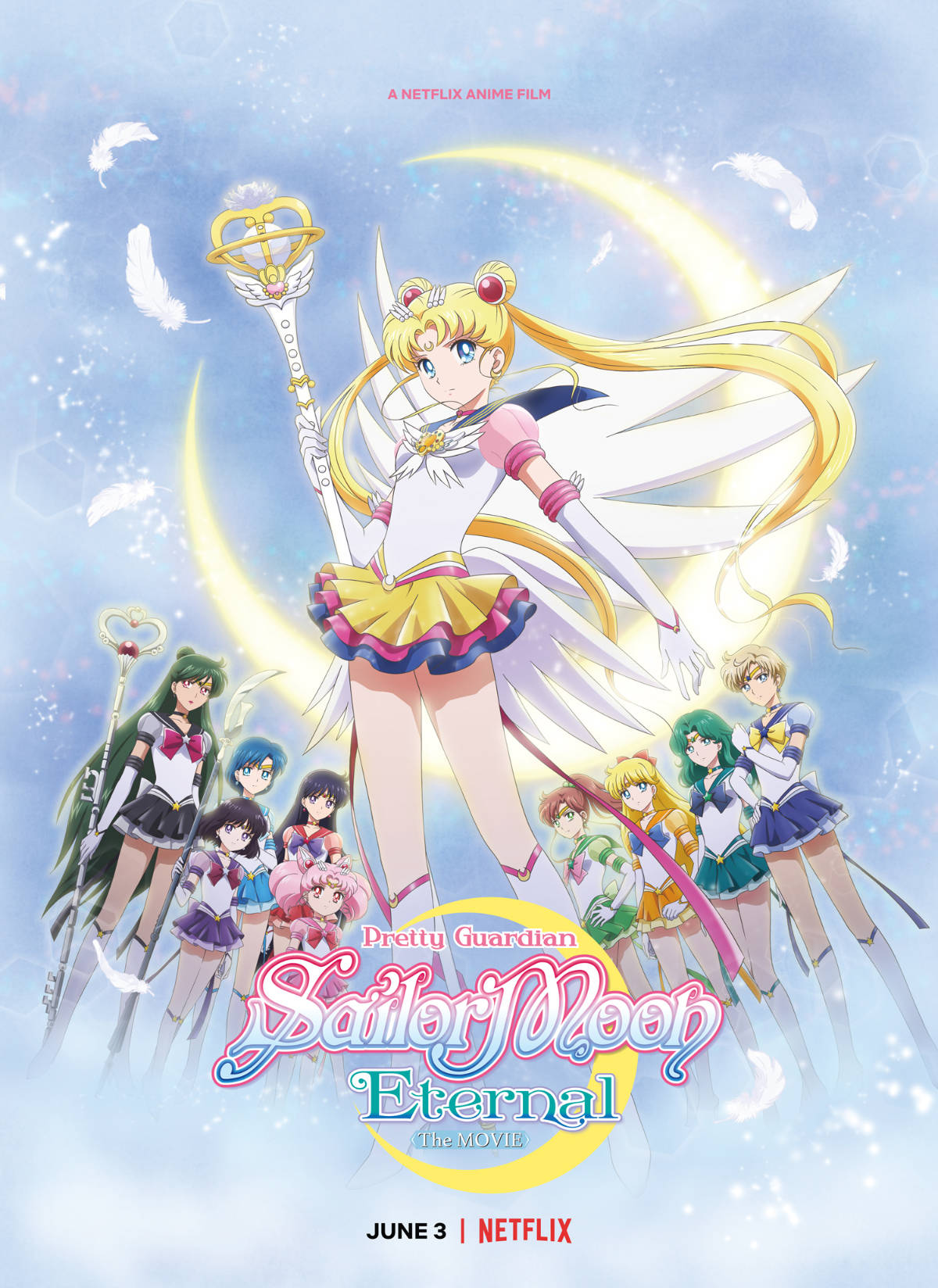 Pretty Guardian Sailor Moon Eternal The Movie Poster