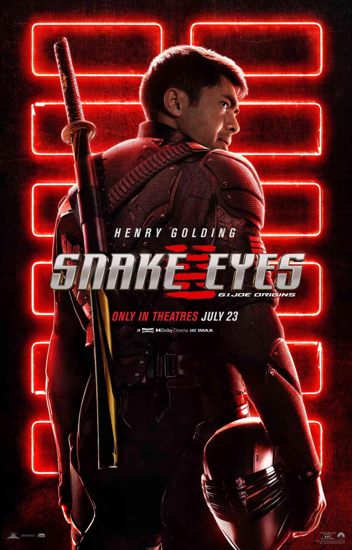 Snake Eyes Panel, Screenings to Kick Off Comic-Con @ Home