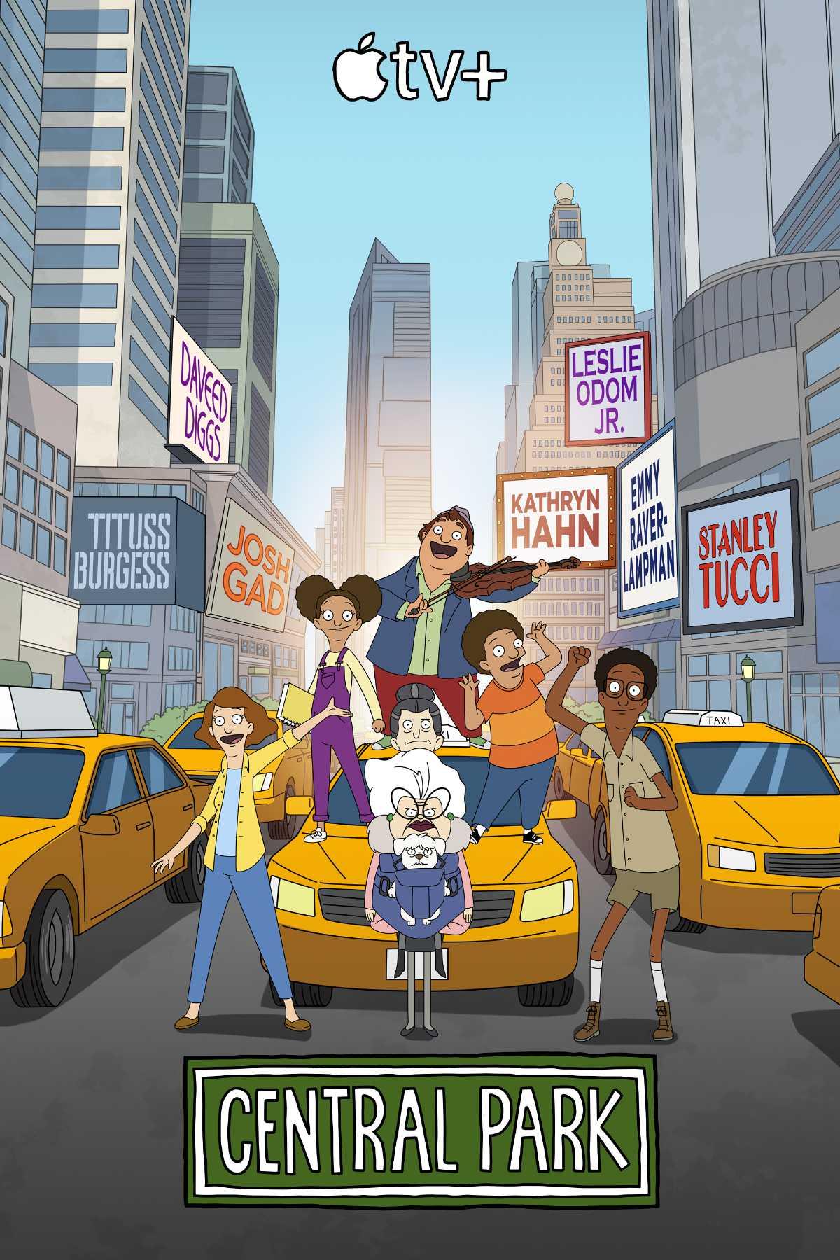 Central Park Season 2 Poster