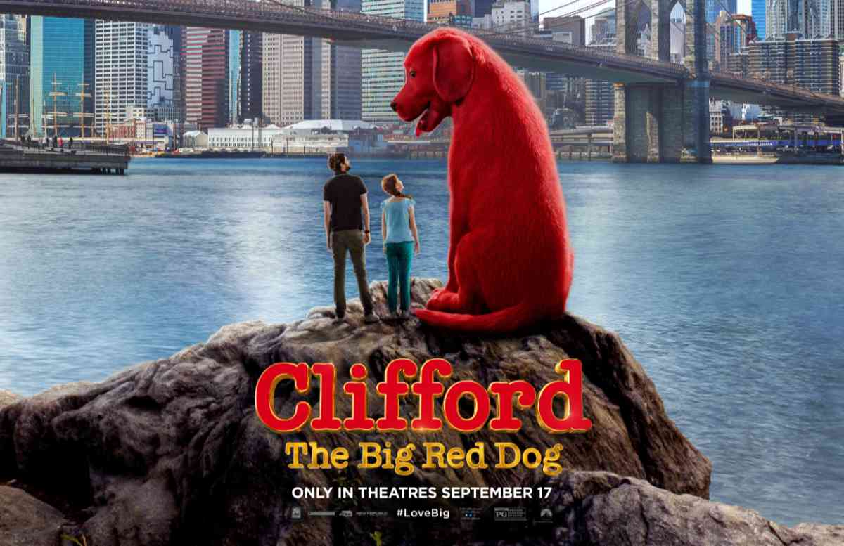 Clifford the Big Red Dog Movie Trailer Revealed!