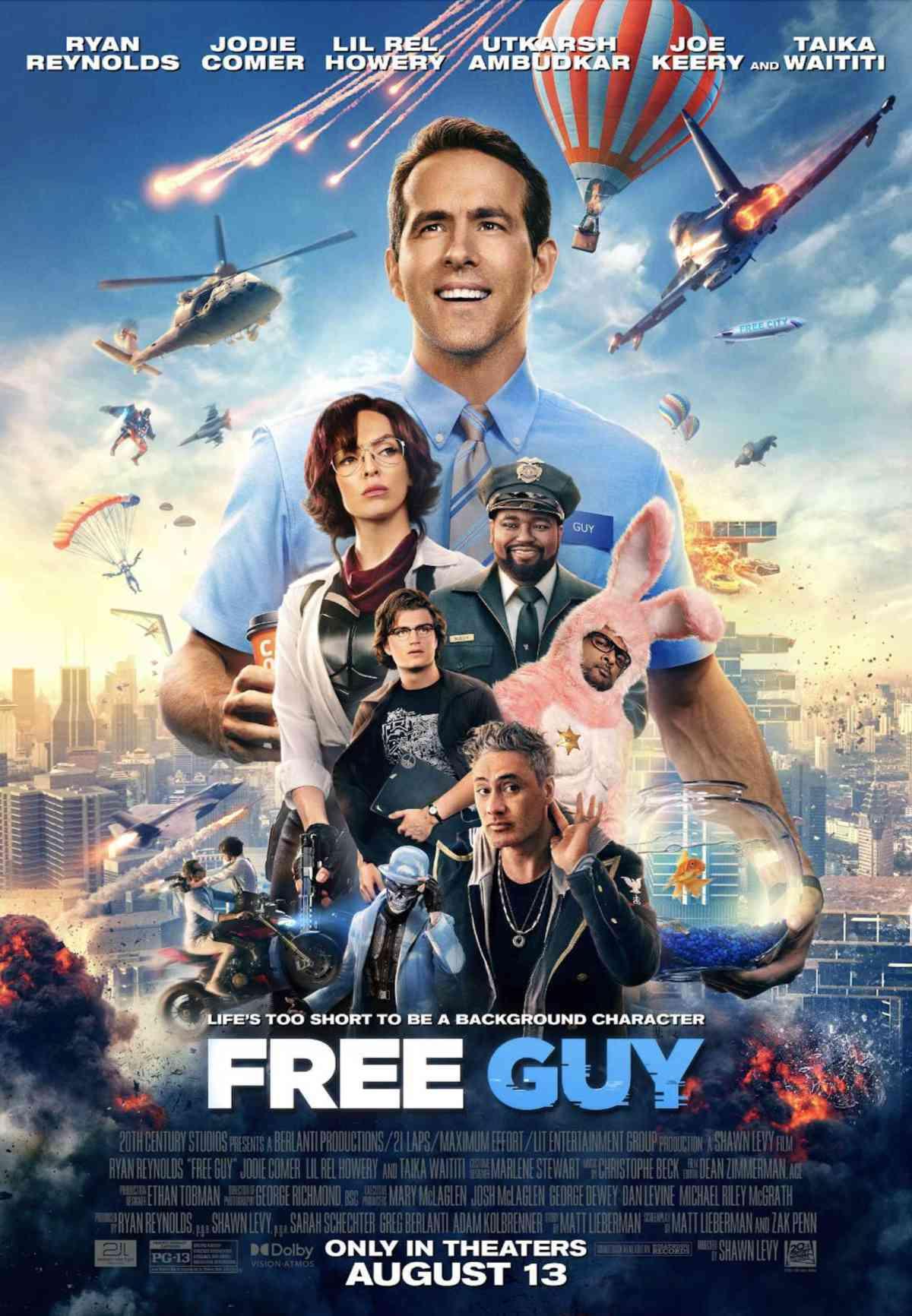 Free Guy Movie Poster