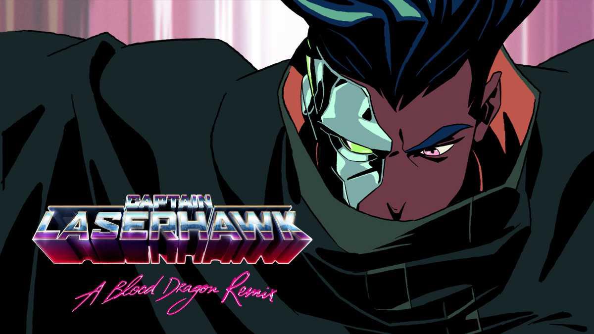Captain Laserhawk, A Blood Dragon Remix