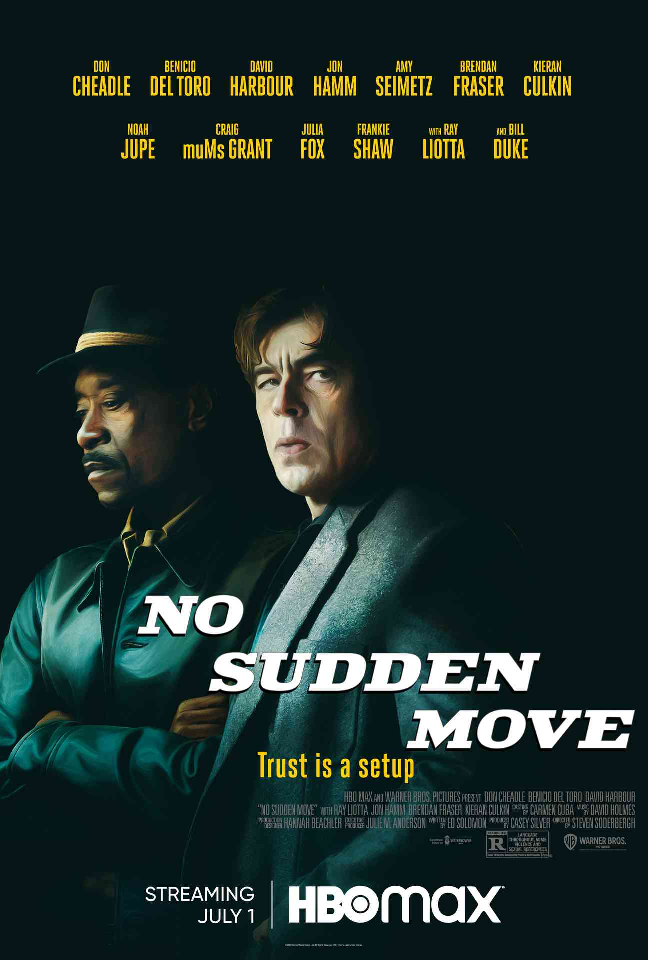 No Sudden Move Trailer and Poster