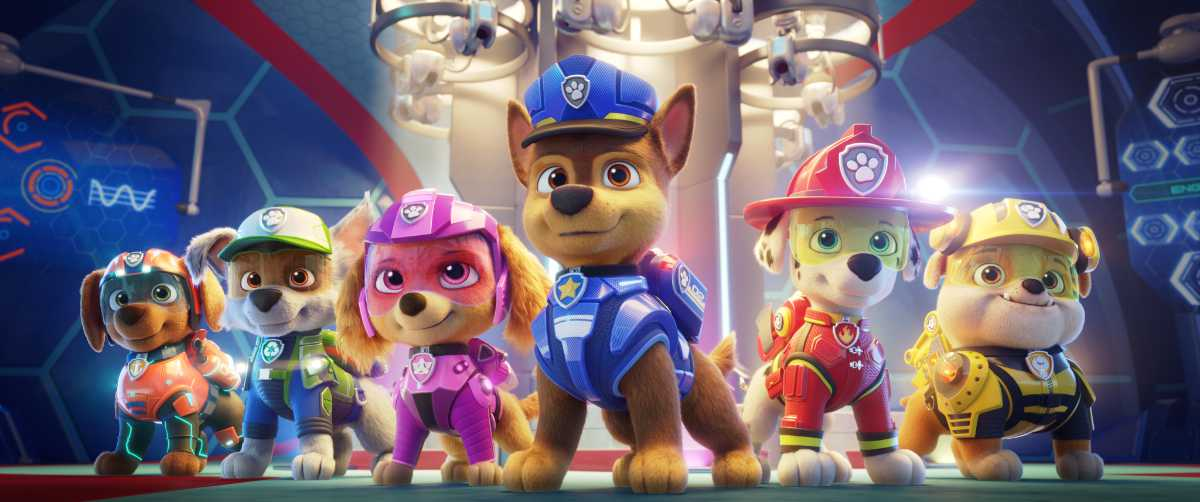 PAW Patrol: The Movie Trailer and Adam Levine Song