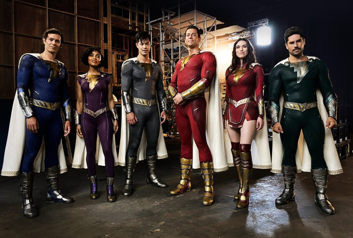 Shazam: Fury of the Gods Director David F. Sandberg Tweets Costume Pic