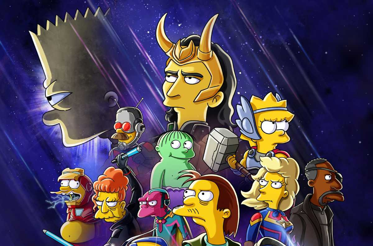The Good, The Bart and The Loki: New Simpsons Disney+ Short