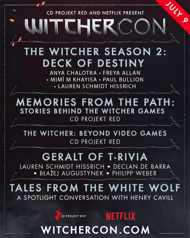 WitcherCon Schedule