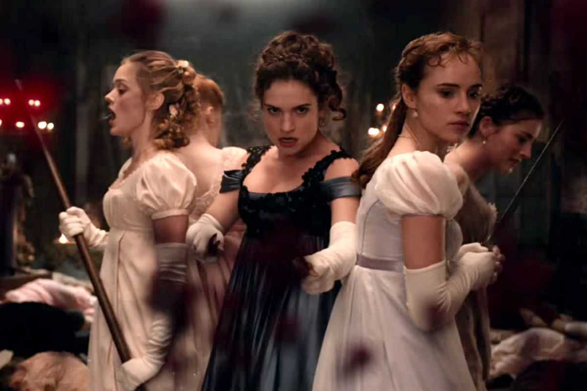 Tubi July 2021 - Pride and Prejudice and Zombies