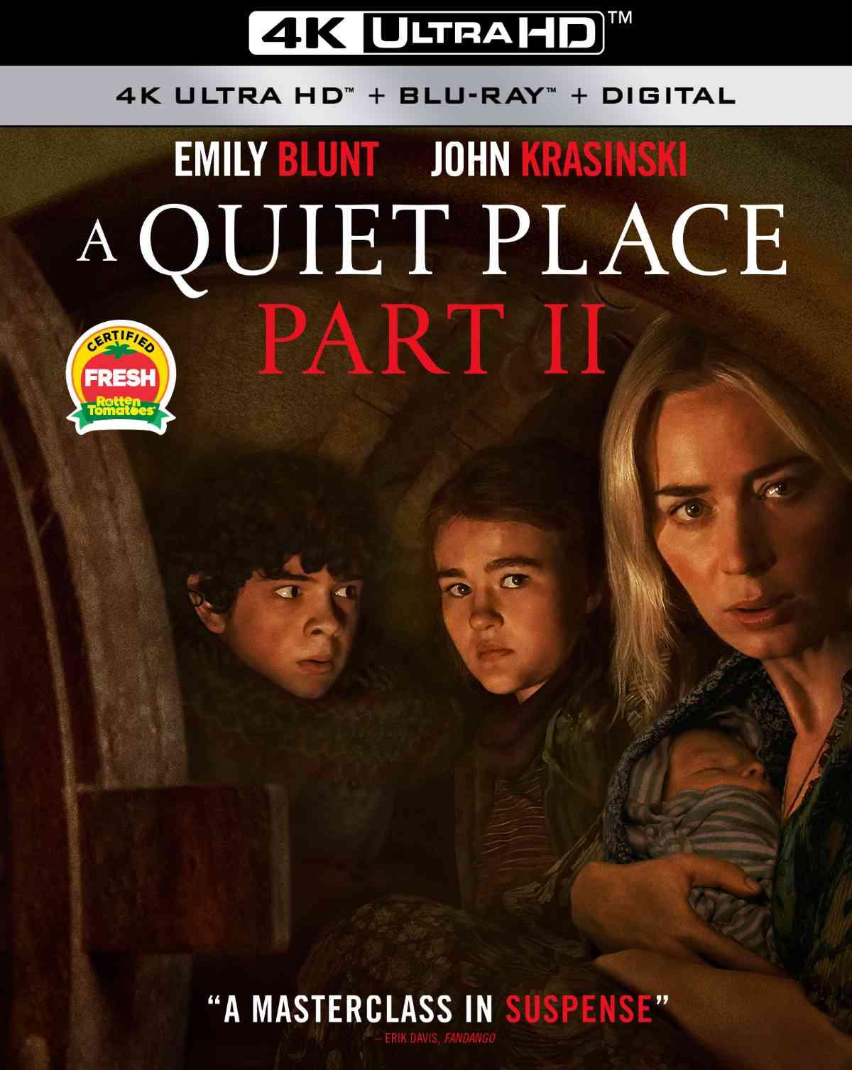 A Quiet Place Part II 4K