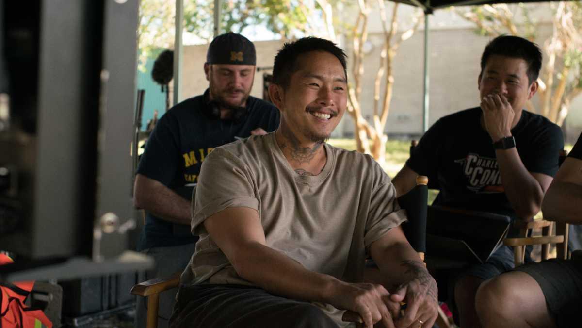 Director/writer/actor Justin Chon