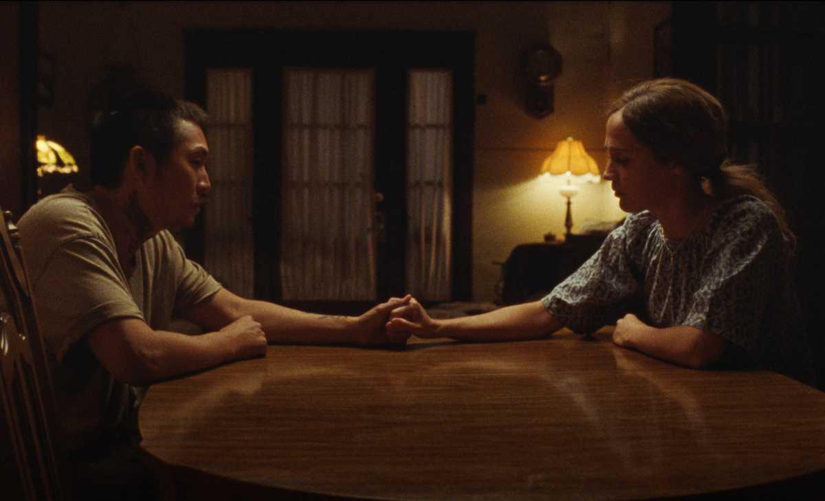 Justin Chon and Alicia Vikander in Blue Bayou