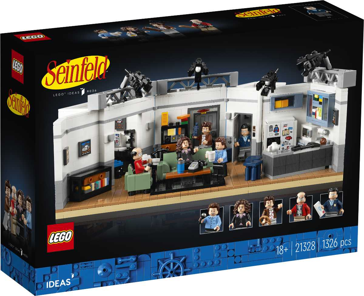 LEGO Ideas Seinfeld Set Releasing August 1