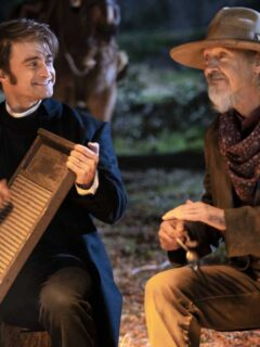 Interviews with Radcliffe, Buscemi and the Cast of Miracle Workers: Oregon Trail