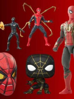 Spider-Man: No Way Home Toys Revealed by Marvel