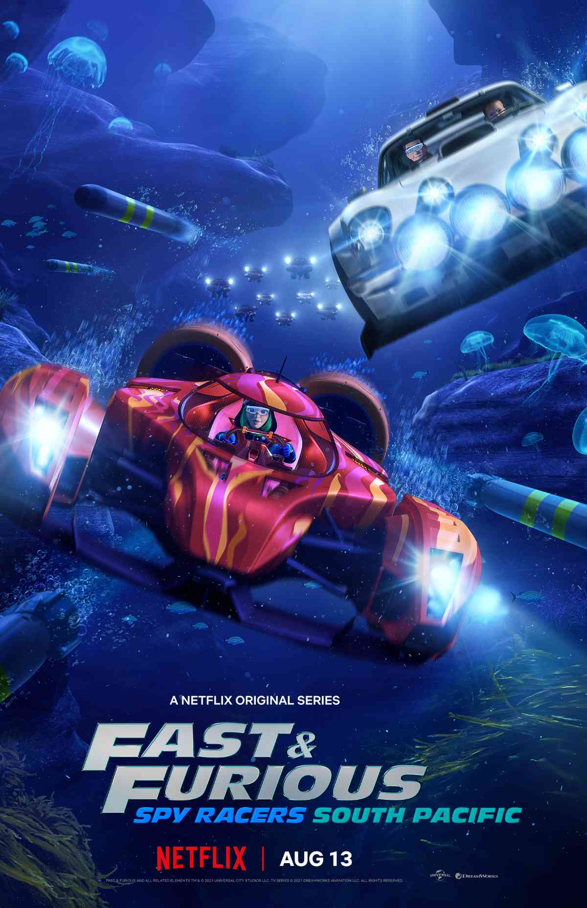 Fast & Furious: Spy Racers South Pacific