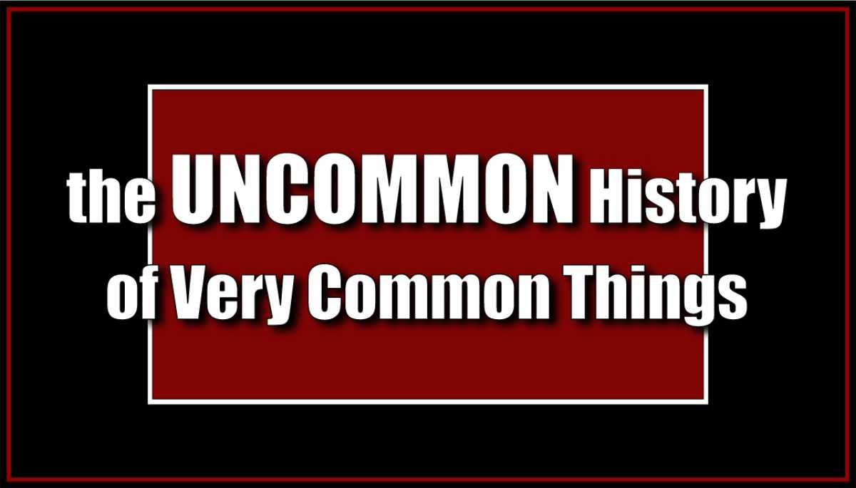 The Uncommon History of Very Common Things
