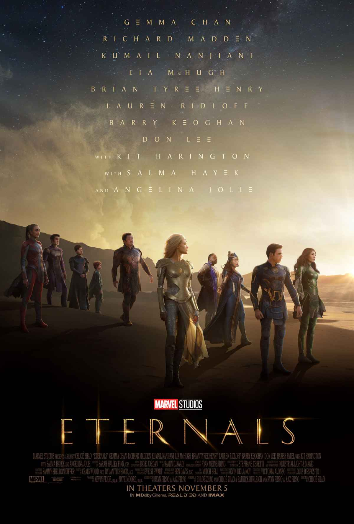 Eternals Trailer and Poster