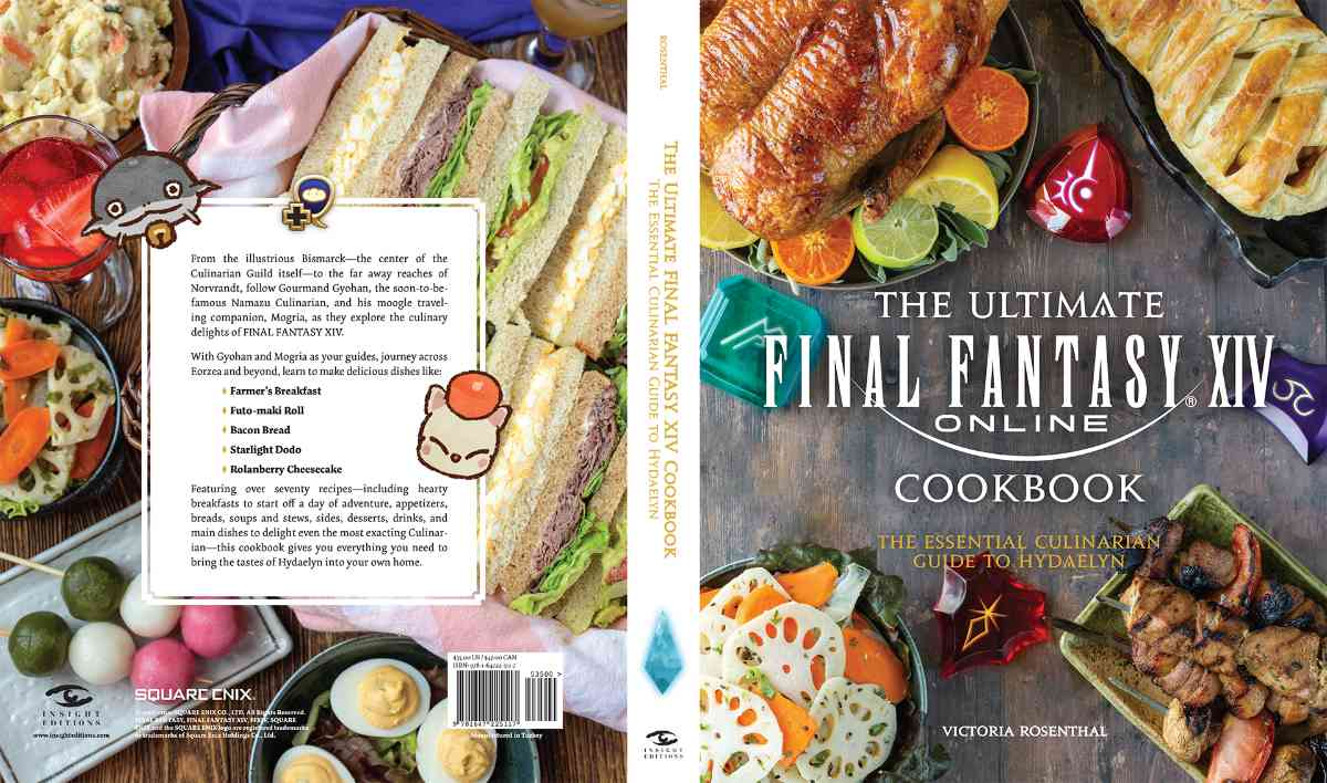 The Ultimate Final Fantasy XIV Cookbook Announced