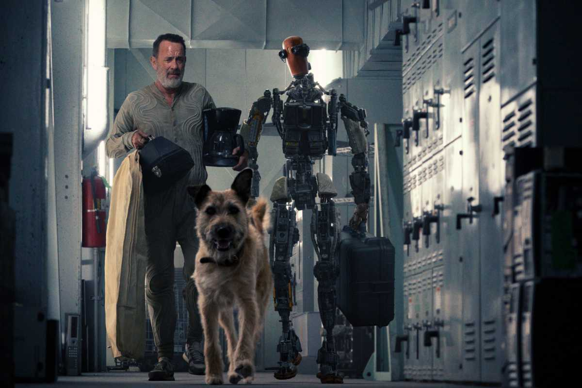 Finch: First Look at Tom Hanks in the Apple TV+ Film