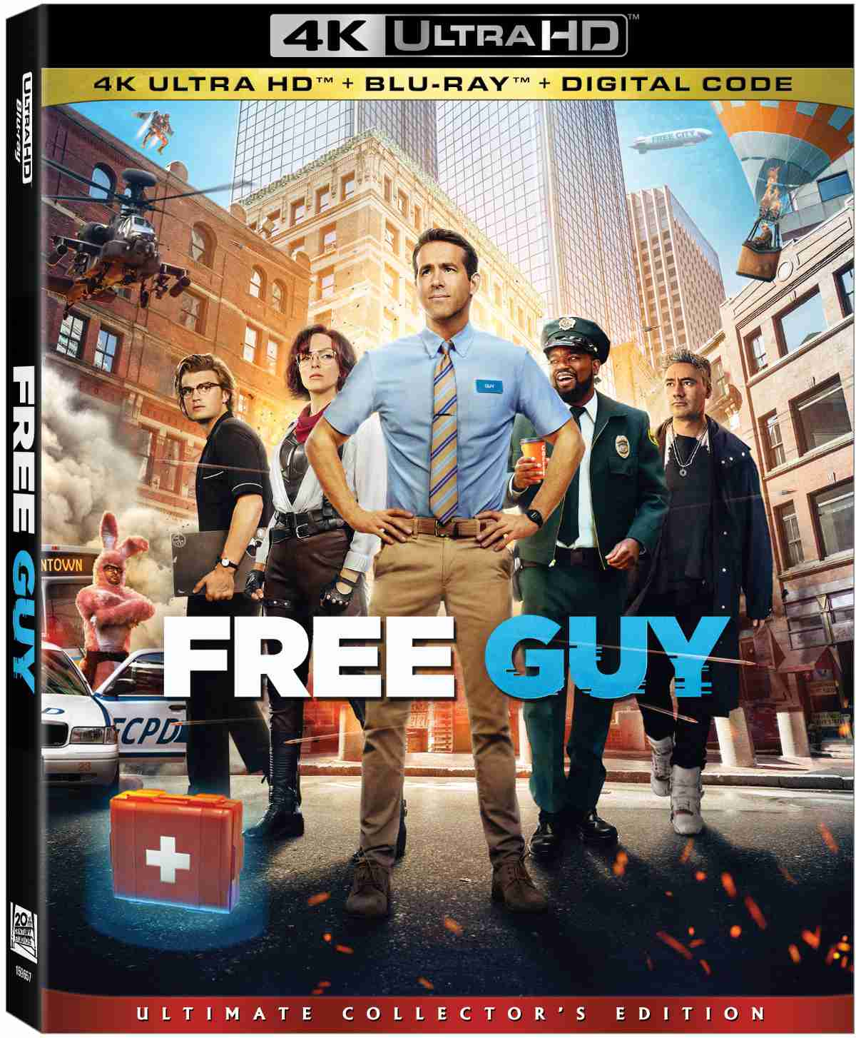 Free Guy 4K
