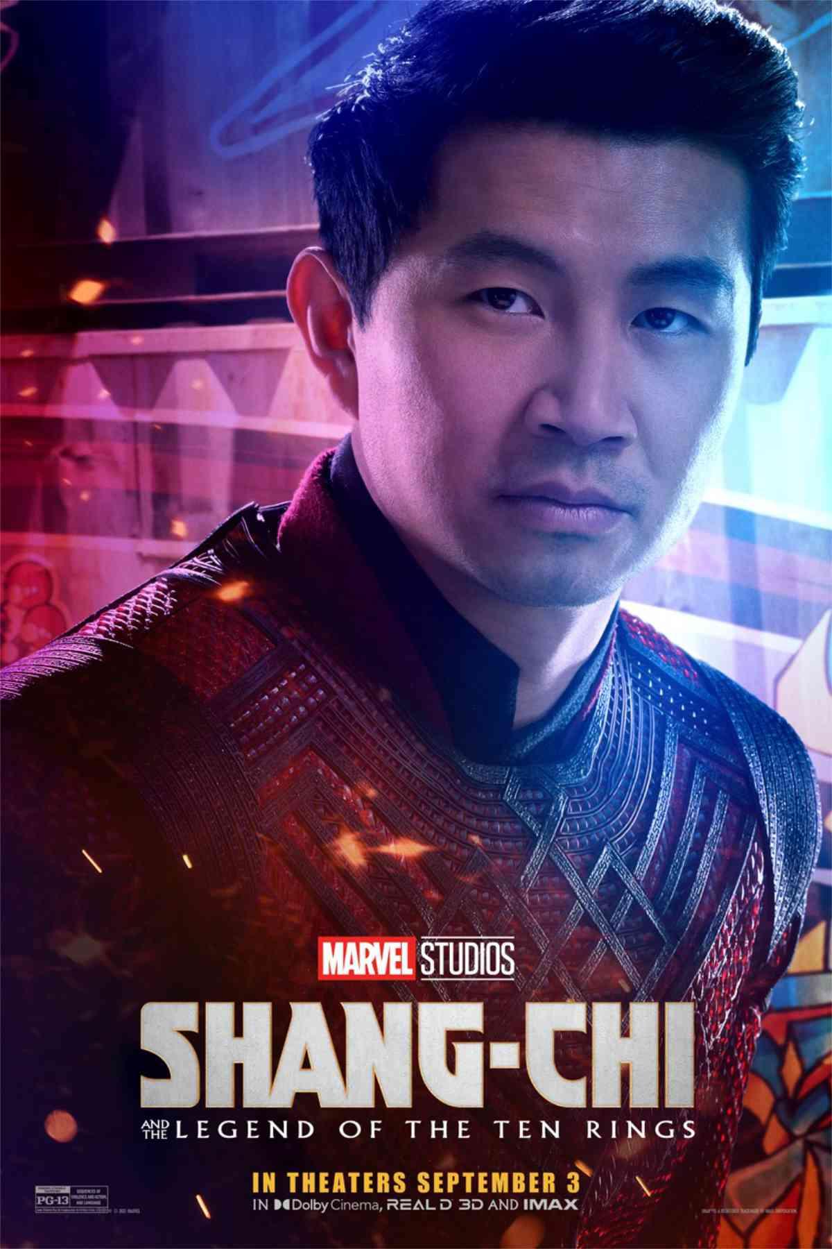 Shang-Chi Character Posters