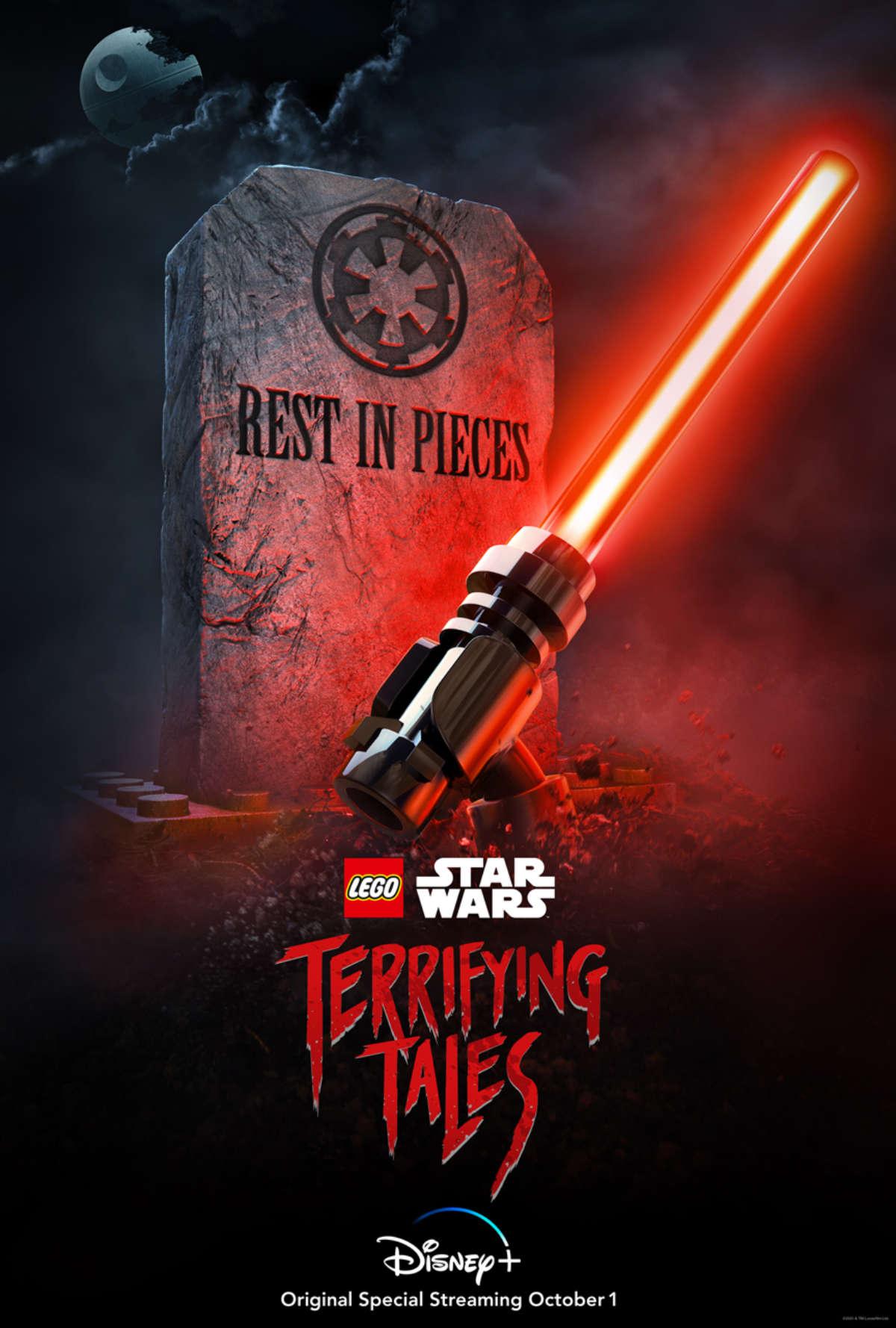 Disney+ Announces LEGO Star Wars Terrifying Tales