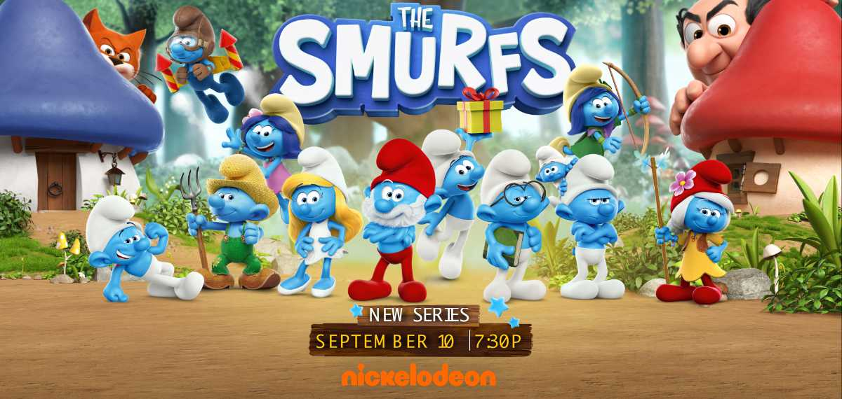 New The Smurfs Series Coming to Nickelodeon