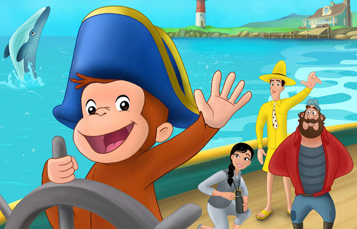 Curious George Movie Cape Ahoy Coming to Peacock