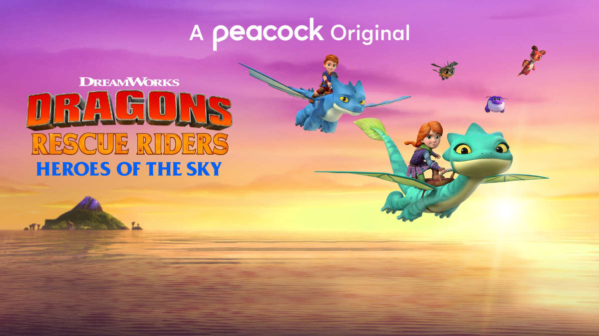 Peacock to Debut Dragons Rescue Riders and Pitch Perfect Series