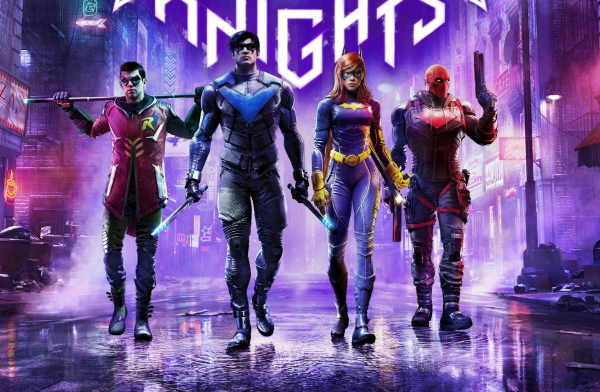Gotham Knights Game Releases Key Art