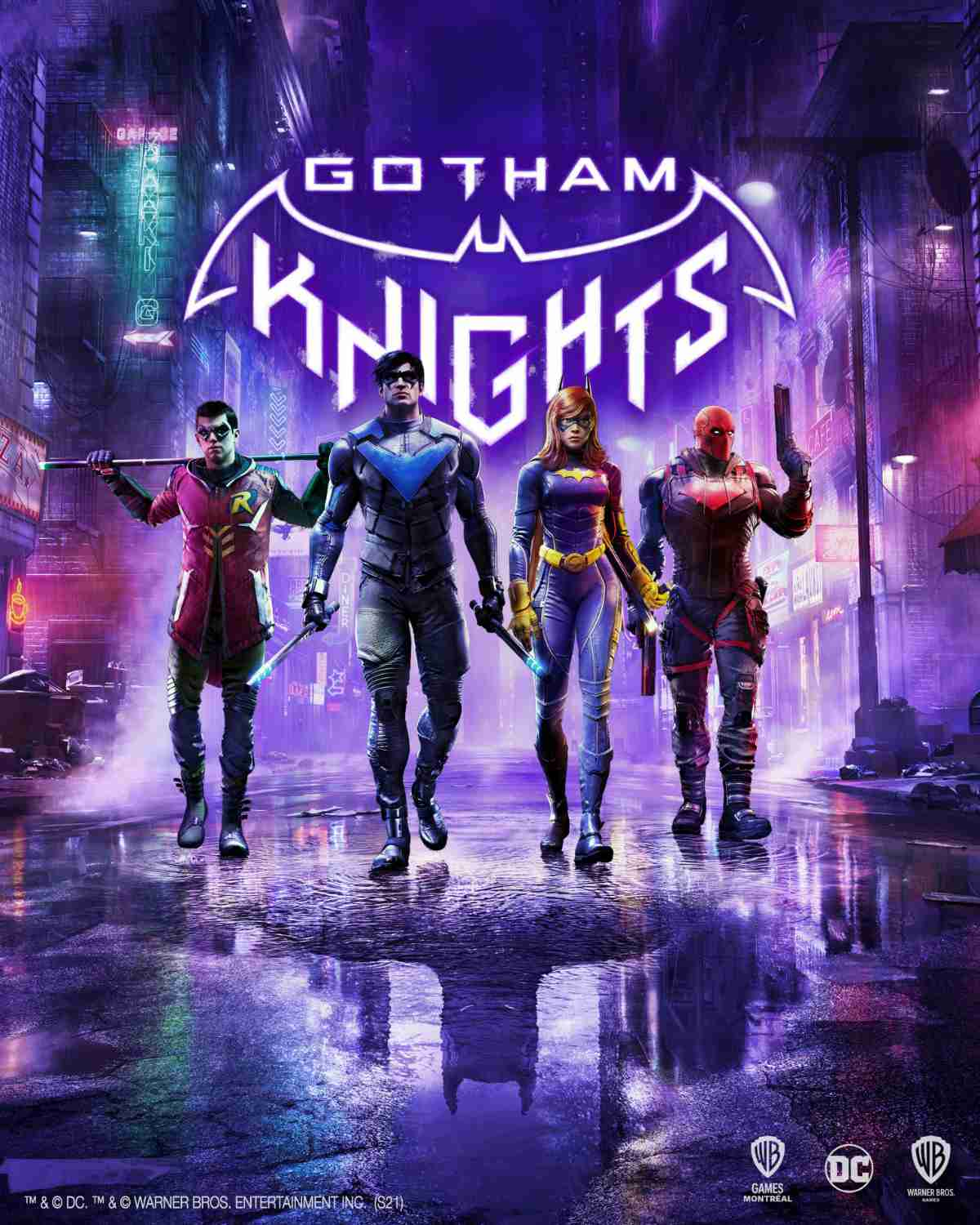Gotham Knights Game Poster