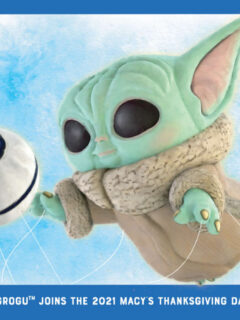 Funko Pop! Grogu to Fly at Macy's Thanksgiving Day Parad