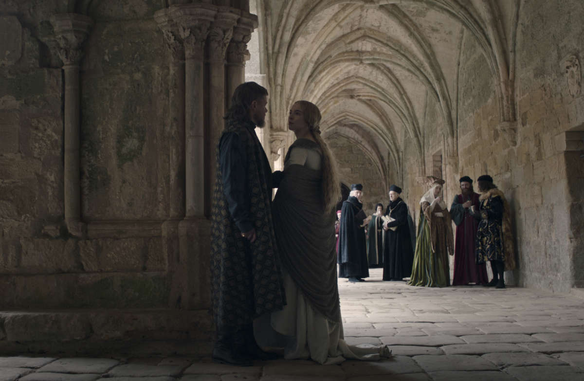 The Last Duel Clip Featuring Matt Damon and Jodie Comer