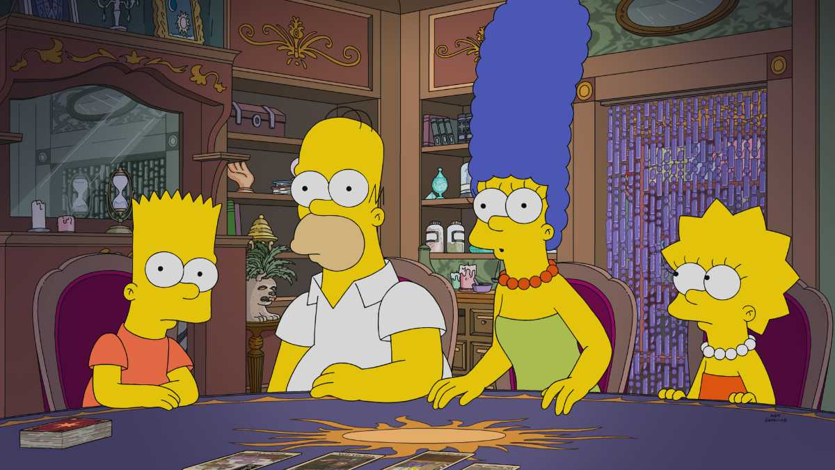 The Simpsons Season 32 Coming to Disney+