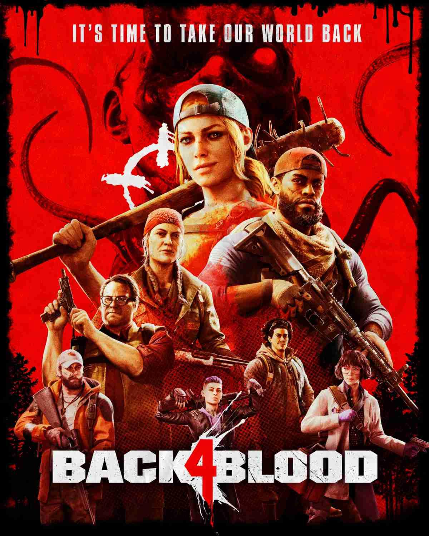 Back 4 Blood Cover Art