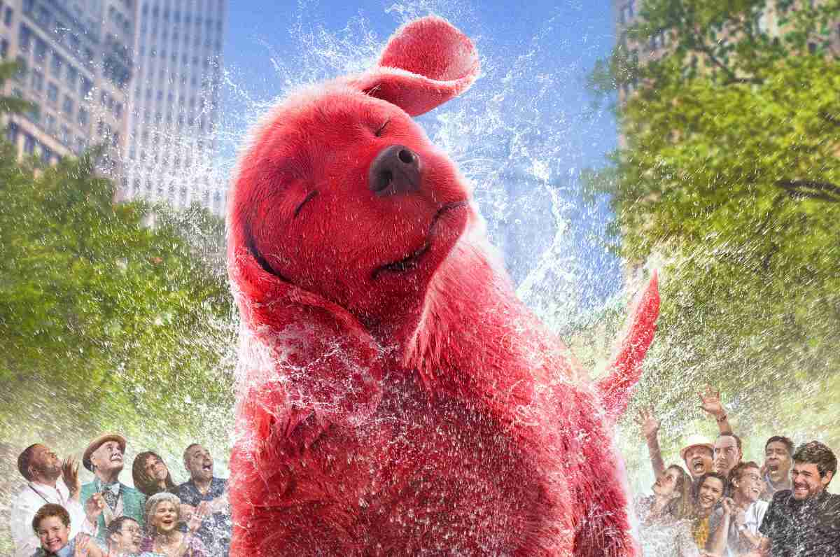 The New Trailer and Poster for Clifford the Big Red Dog