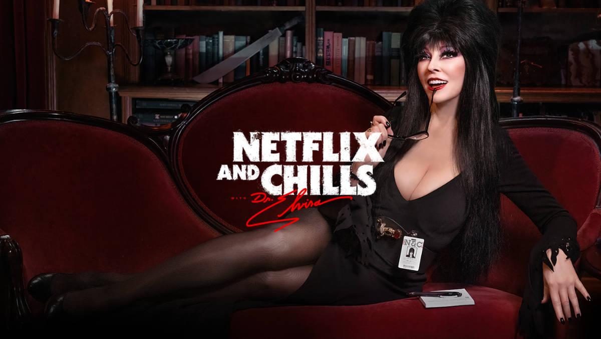 Elvira Hosting Netflix and Chills in October!