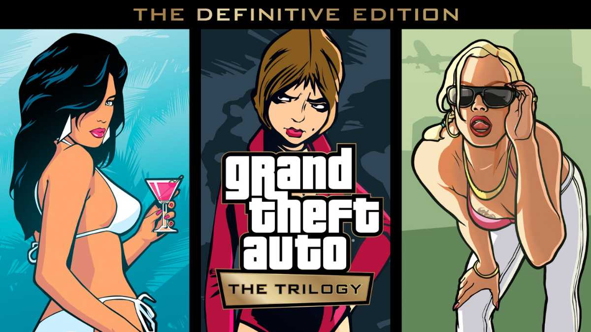 Grand Theft Auto: The Trilogy - The Definitive Edition Announced
