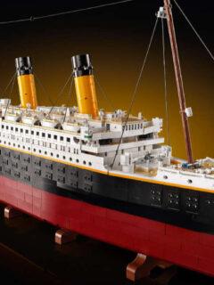 LEGO Titanic Set Features More Than 9,000 Pieces!