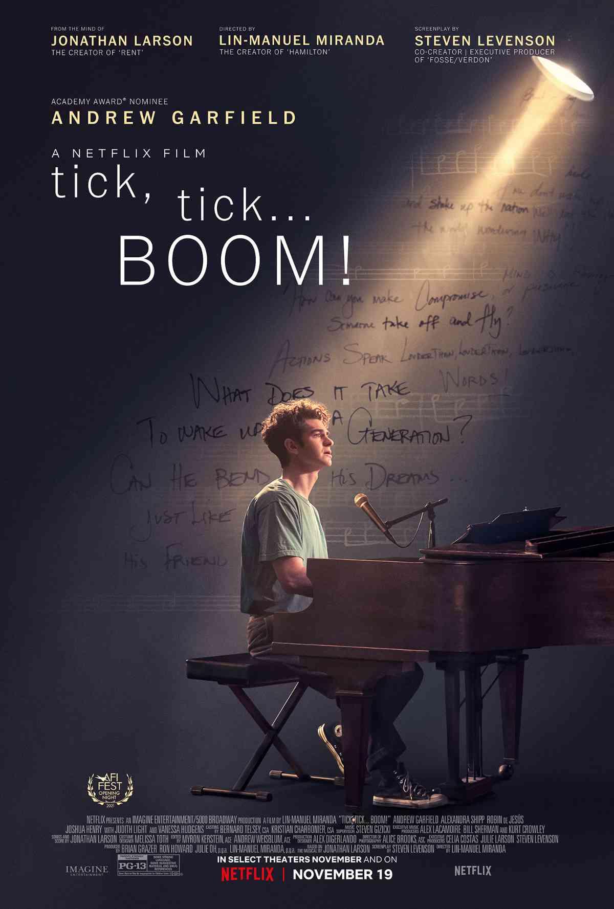tick, tick... BOOM! poster