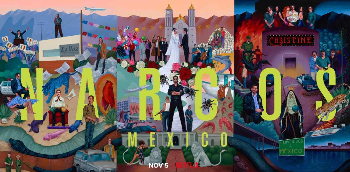 Netflix Debuts New Narcos: Mexico Season 3 and Robin Robin Trailers
