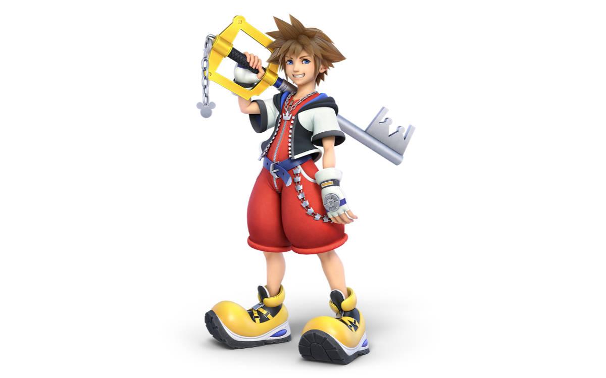 Sora From Kingdom Hearts is Final Super Smash Bros. Ultimate Fighter